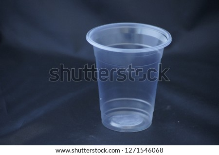 Disposable Plastic Cups #1271546068