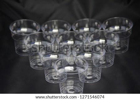 Disposable Plastic Cups #1271546074