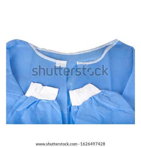 disposable surgical gown for surgery  ストックフォト ©