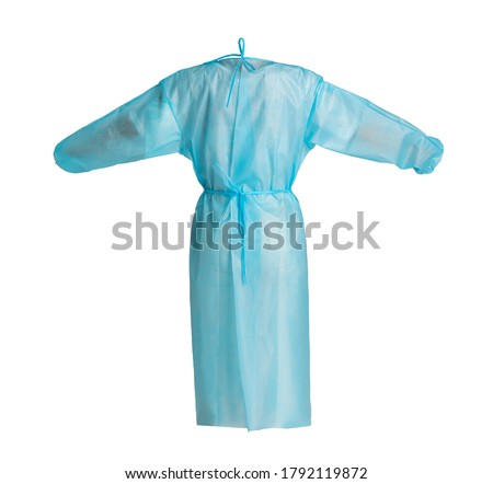 disposable surgical gown for surgery isolation gown surgical gown for surgery protection Foto stock ©