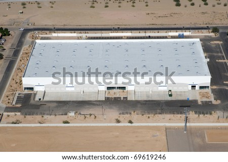 Disribution Warehouse from Above