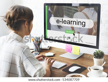 Distance learning online search interface #534087709