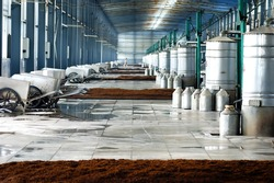 Distillate spirit factory in China