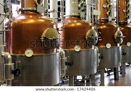 Distillery - copper.