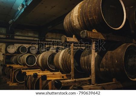 Distillery of whisky