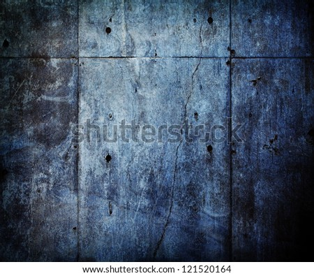 Distressed and old concrete wall.
