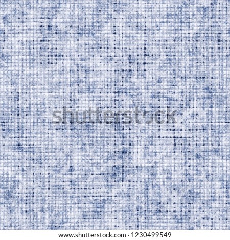 Distressed Bleached Effect Canvas Textured Background. Seamless Pattern. #1230499549