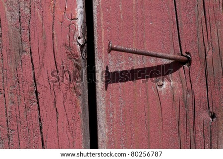 Distressed rough weathered wood.