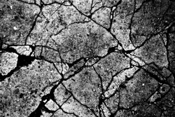 distressed texture black and white seamless background cracked ground or wall