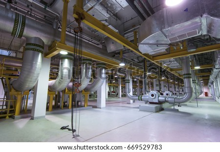 district cooling plant #669529783