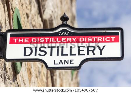 District Distillery in Toronto (Canada)