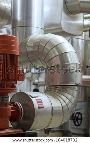 District heating station flow