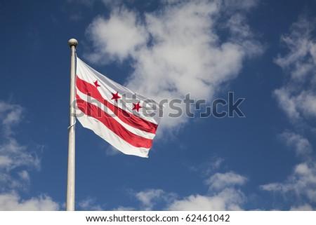 District of Columbia (Washington, DC) Flag