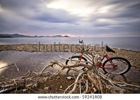 disused bike