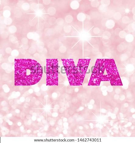 diva art and background  design in purple