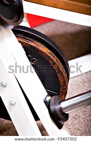 diverse gym machines at the gym room