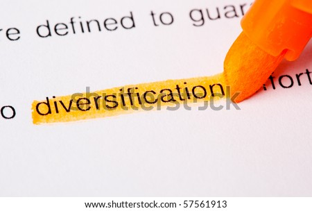 diversification word