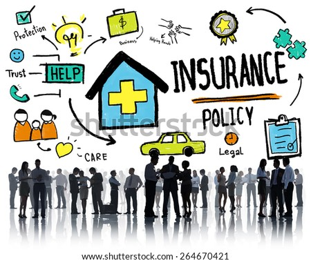 Diversity Business People Insurance Policy Discussion Working Concept