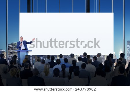 Diversity Business People Meeting Conference Seminar Concept