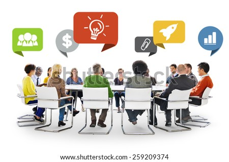 Diversity People Discussion Brainstorming Communication Concept