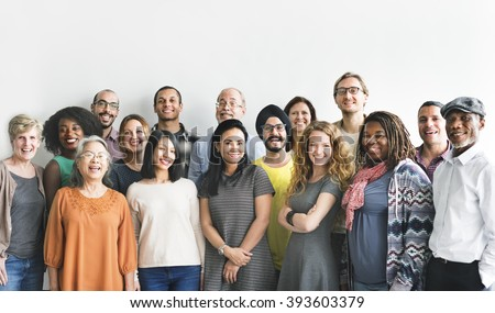 Diversity People Group Team Union Concept #393603379