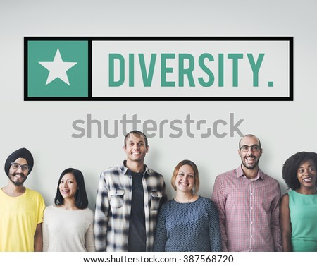 Diversity Society Variation Race Community Concept