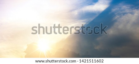 divine intervention heavenly sky background #1421511602