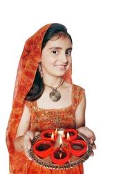 Diwali Celebrations in India.