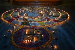 Diwali Light festival india