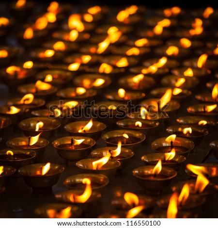Diwali lights. India