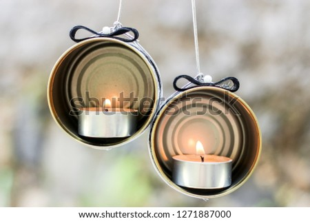 DIY Candle Holder Crafting Idea form a Recycled Cans #1271887000