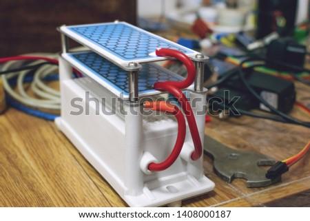 DIY Ozone Generator, ozonizer. Heavy Duty Ozone Generator DIY with Blue Plates Treatment.  #1408000187