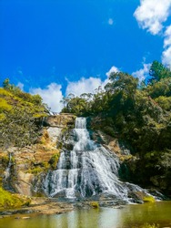 Diyaluma one Beautiful Waterfall of Sri Lanka