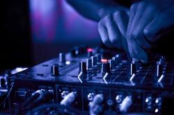 DJ Music night club