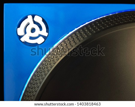 Dj turntable 45 spider adapter for 7 inch record