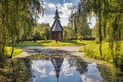 Dmitrievskaya Church (Spaso-fominskaya), 17th century. Golden ring of Russia. Kostroma, Russia