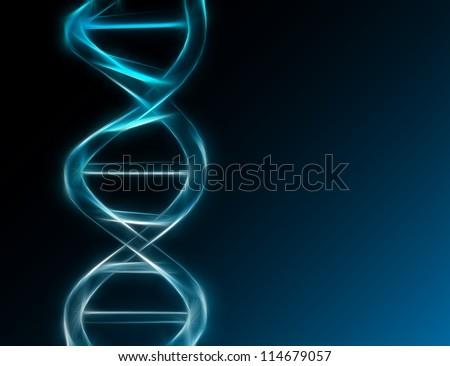 DNA - stock photo