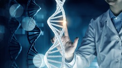 DNA molecule research