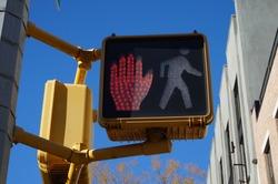 Do Not Walk Symbol