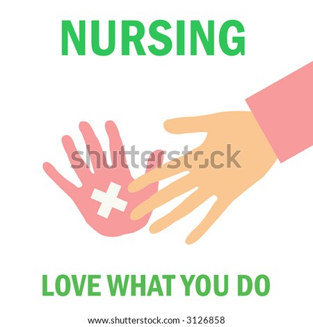 do what you love poster be a nurse