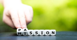 Do your mission with passion. Hand turns dice and changes the name