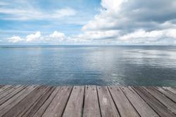 Dock at Beautiful Sea