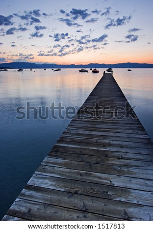 Dock at Lake Tahoe