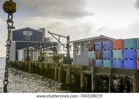 Dock in Crescent city