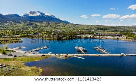 Dock With Sailboats, Frisco Marina, Colorado