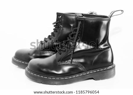 Docs Black Boots