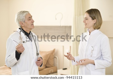 Doctor and nurse conversation