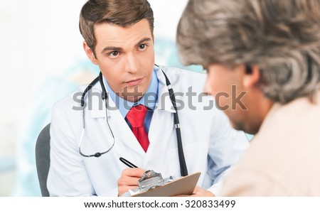 Doctor and Patient.