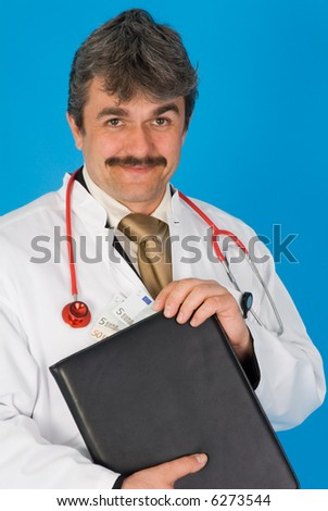doctor at work