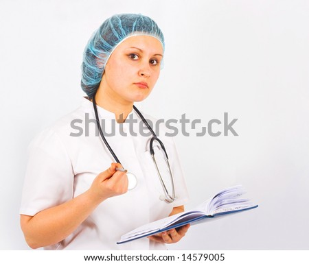 "Doctor brought some bad news -  of ""Medical"" series in my portfolio"